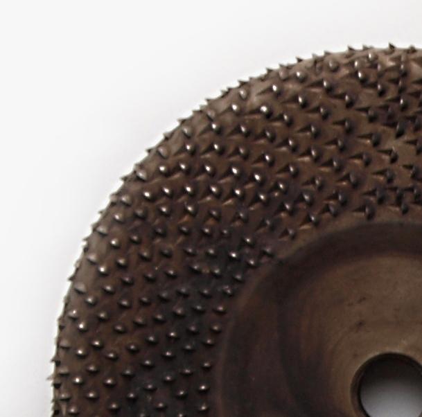 Kotoučová sekaná rašple PLOCHÁ,kulatá hrana-125 mm